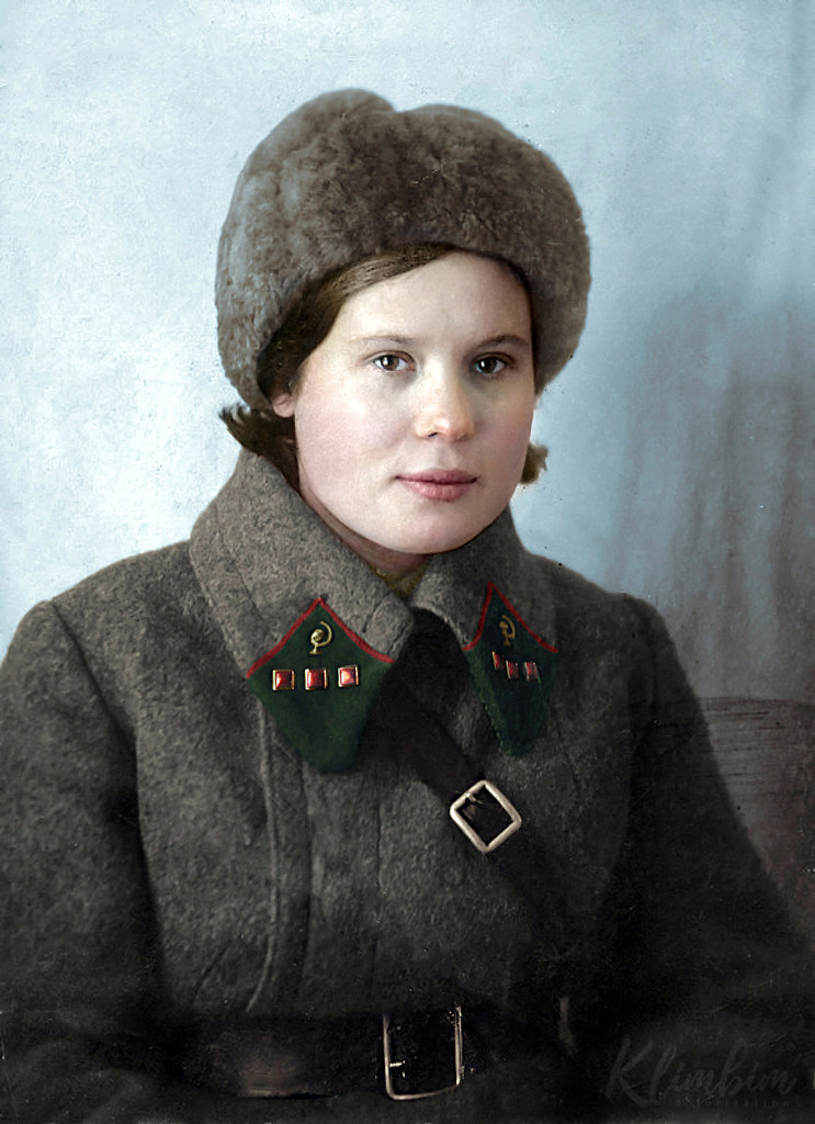 Sokolova P.I. medical attendant of the 2nd Moscow Rifle Division
