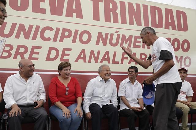 Nueva Trinidad, Chalatenango, Libre Analfabetismo, 1 (23)