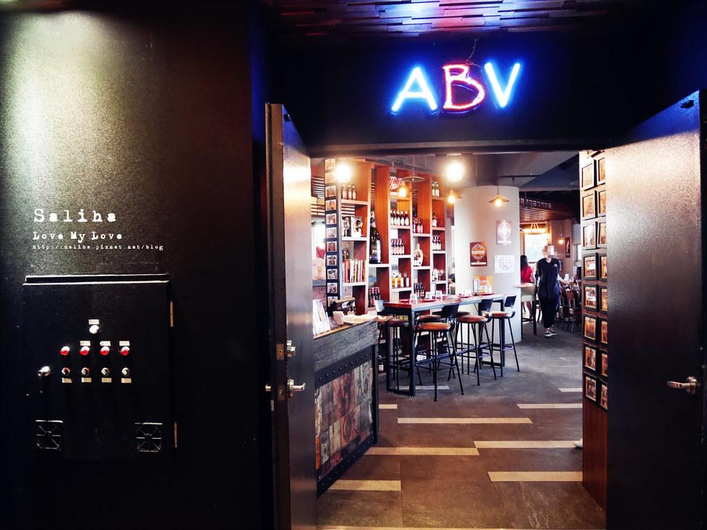 板橋府中站附近氣氛好浪漫約會餐廳美食推薦ABV閣樓餐酒館義大利麵沙拉啤酒 (2)