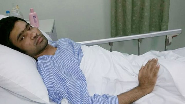 3468 An accident crushed his spinal cord and shattered all his dream in Riyadh