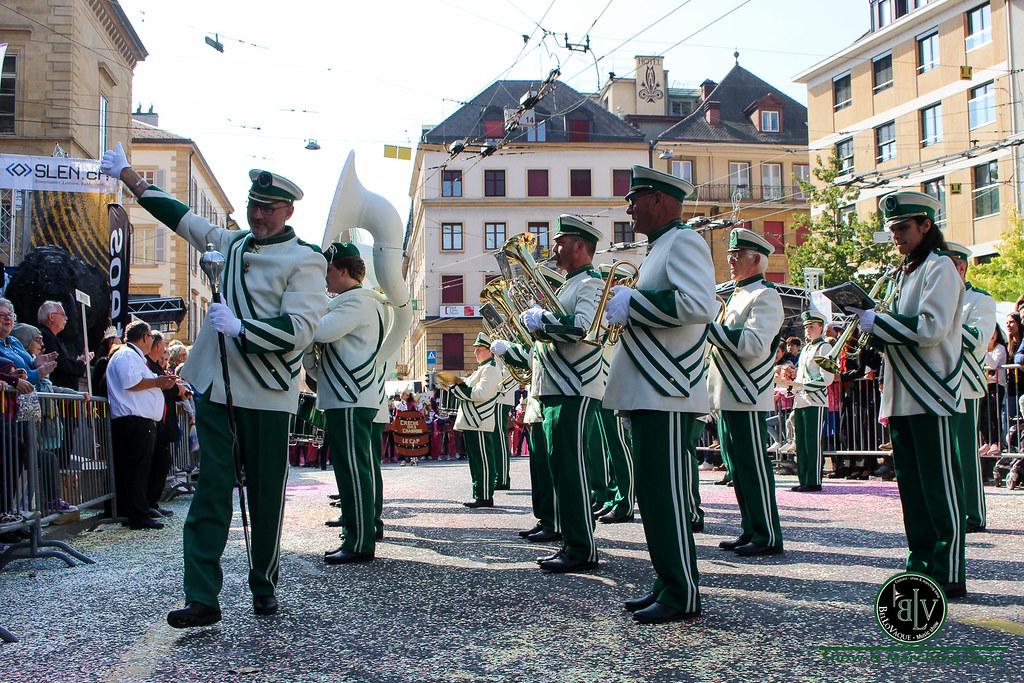 Fête des Vendanges 2018 - Neuchâtel (Suisse)