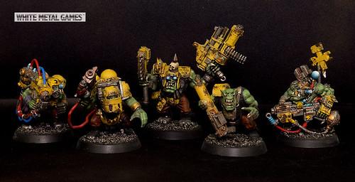 Badmoonz Orks Kill Team