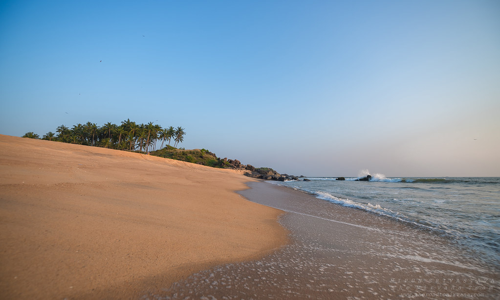 Fabulous beachfront at Bekal!