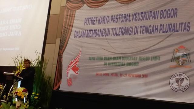 Temu UNIO Regio Jawa, Bogor, 18-21 September 2018