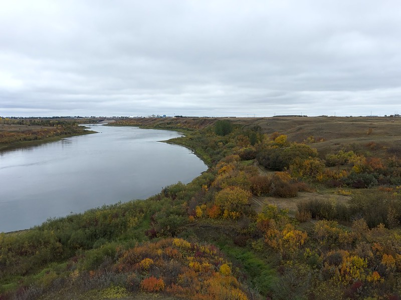 South Saskatchewan River from Wanuskewin