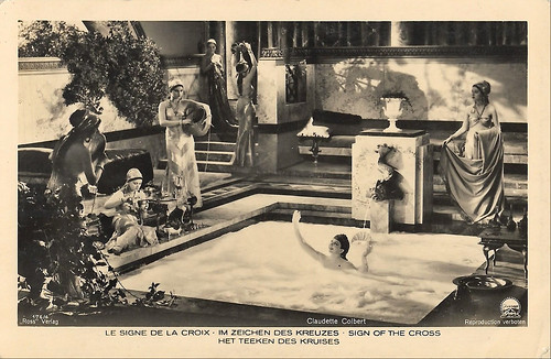 Claudette Colbert in The Sign of the Cross