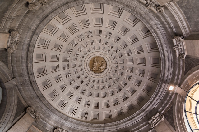 Ornate dome ceiling, Nikon D5500, Tamron SP AF 10-24mm f/3.5-4.5 Di II LD Aspherical (IF) (B001)