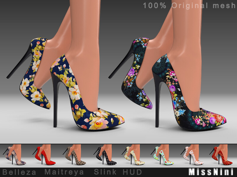 Beautiful colorful high-heeled shoes - TeleportHub.com Live!