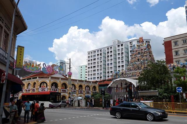 シンガポール旅行の写真をたんたんとアゲるよ(4)〜リトルインディアでビリヤニなど