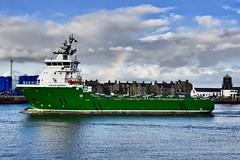 Havila Aurora - Aberdeen Harbour Scotland - 21/10/18