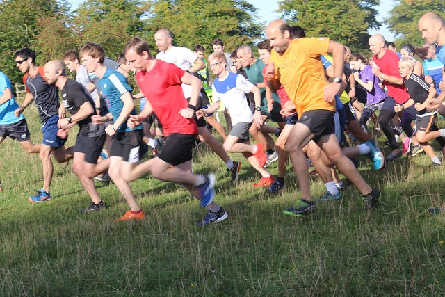 The start of tring parkrun 211