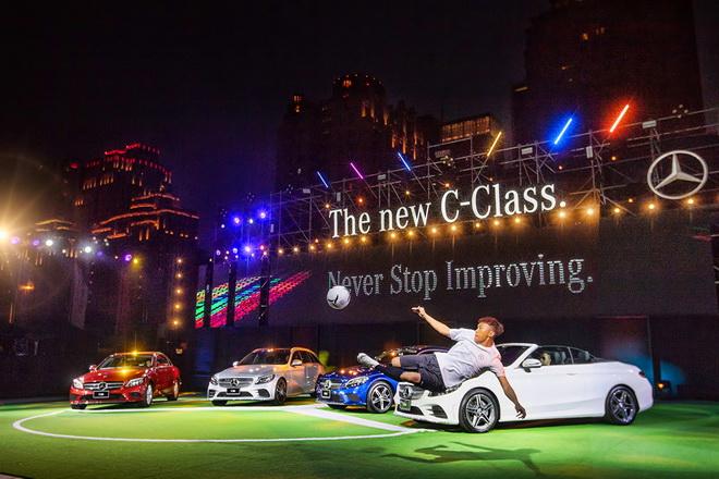 The new C-Class勇於挑戰傳統、突破創新的精神,台灣賓士精心設計了一場前所未見的發表大秀