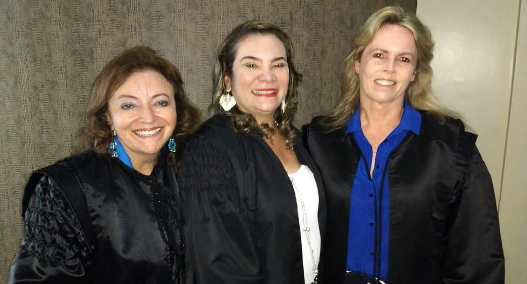 Inédito | 3 mulheres irão comandar o Tribunal do Trabalho a partir de dezembro, TRT8. Mulheres no comando do TRT8.