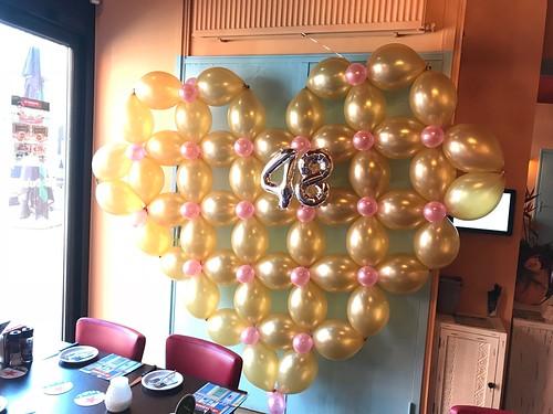 Ballonnenhart van Linkoloons Quicklink Doorknoopballonnen La Cubanita Spijkenisse