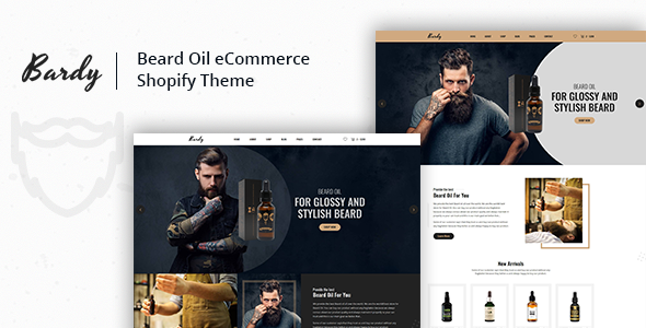 Bardy v1.0.1 – Beard Oil Shopify Theme + RTL + Droppshiping