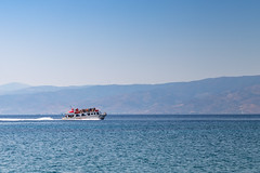 Water taxis in Hydra Greece