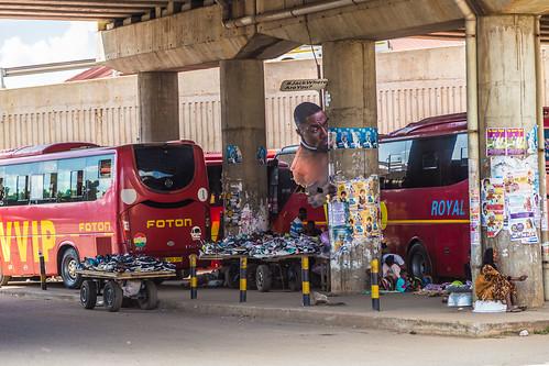 ghana kumasi bridge bus poster ashanti gh
