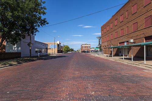 Brick Street of Memphis Texas