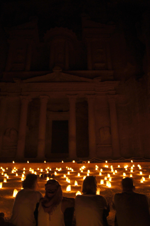 Petra - lanterns
