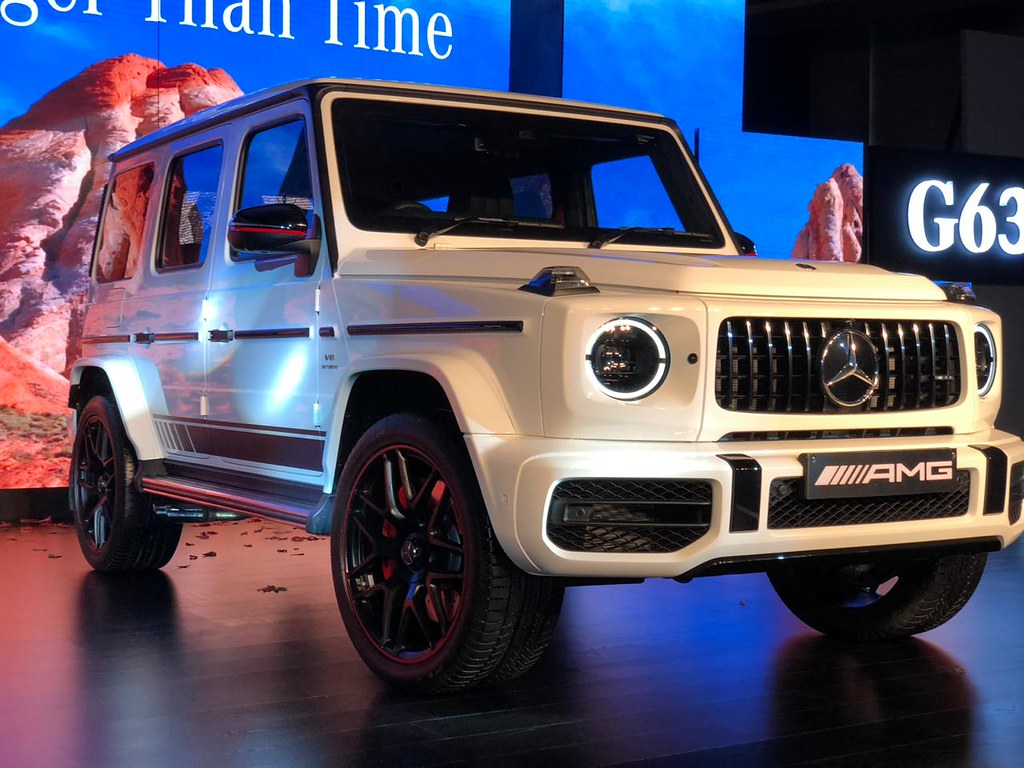 Mercedes-Benz Launches New AMG G 63