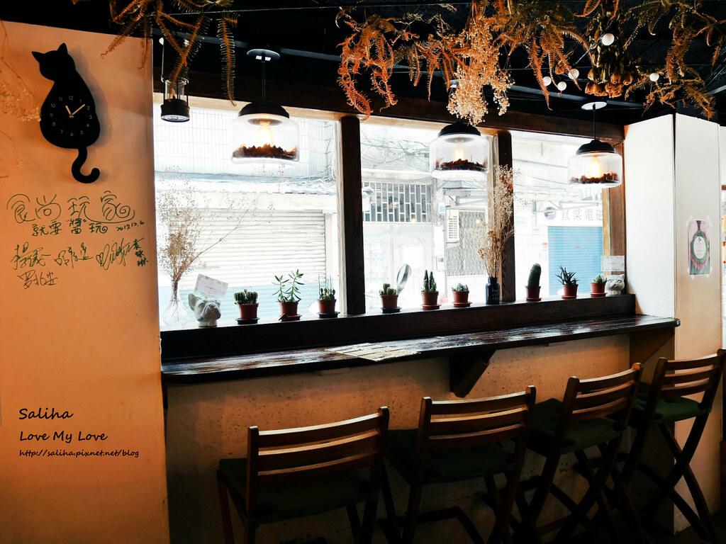 新店小碧潭站食尚玩家推薦乾燥花文青餐廳咖啡在家吃飯 (6)