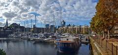 St Katharine Docks_3. Panorama. Nikon D3100. DSC_0971-0980