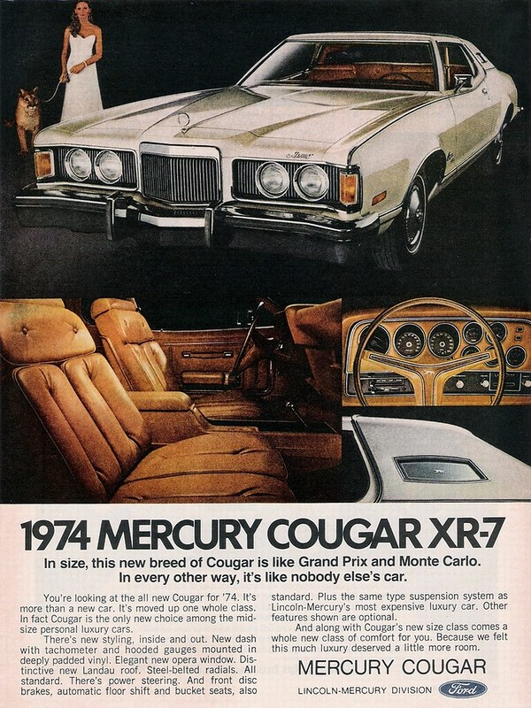 1974 Mercury Cougar XR-7