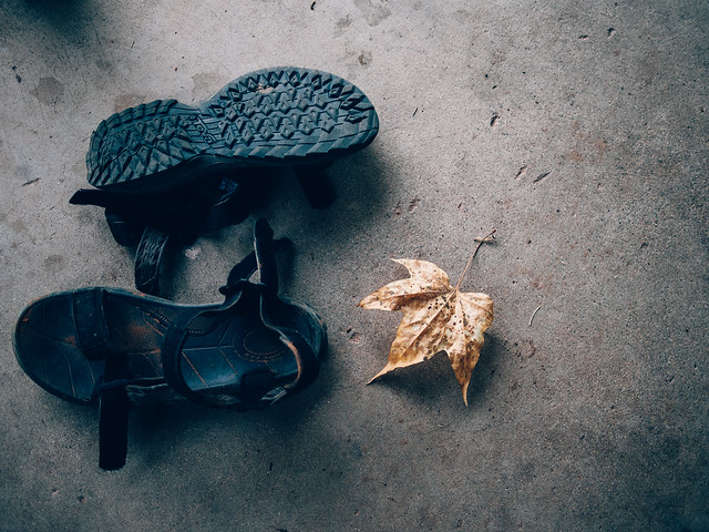 Leave the sandals, Olympus E-M1, LUMIX G 20/F1.7 II