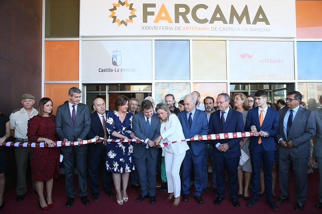 Inauguración de la XXXVIII edición de la Feria de Artesanía de Castilla-La Mancha (FARCAMA)