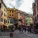 De hoofdstraat in Vernazza