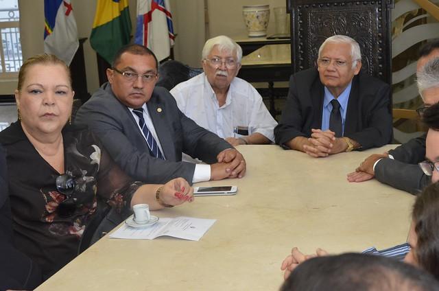 Reunião do PGJ-PE com o presidente do TJPE