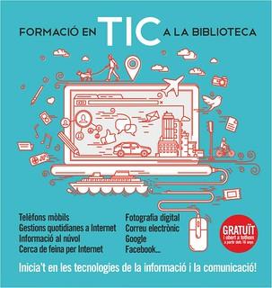 Cartell de Formació TIC