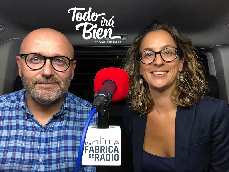 Foto 2018 09 26 Mila Martínez Paco Cremades La Fabrica de Radio Marketing On Line Todo ira Bien