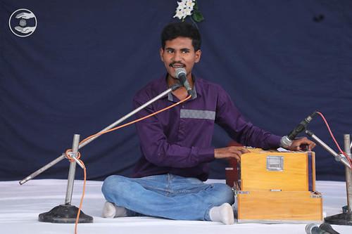 Devotional song by Mukul Gill from Zirakpur Haryana