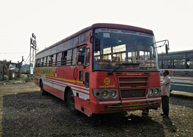 GSRTC :- Gujarnagri Express Suryanagri Tata  Air Suspension Bus..