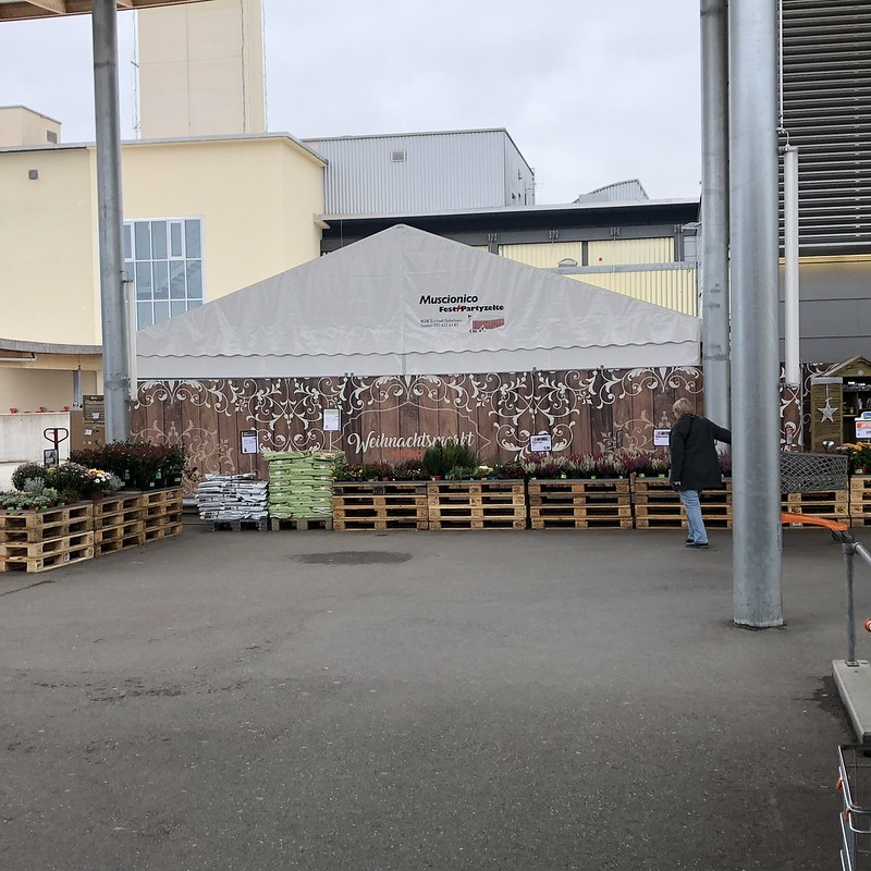 Christmas Tent Migros