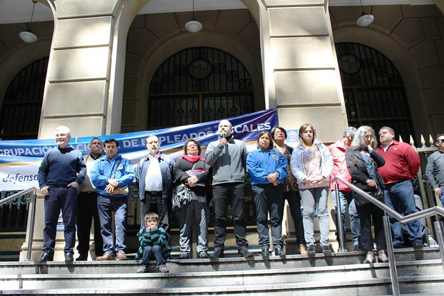 Jornada de Movilización Nacional ANEF (30-10-2018)