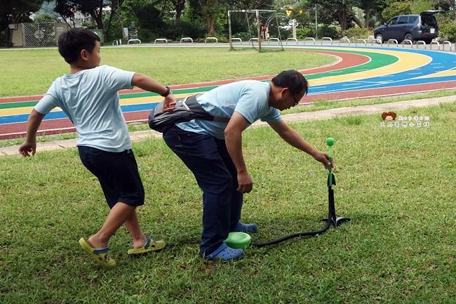 美國POOF 夜行者空氣火箭 戶外遊戲 兒童遊戲 野餐 露營玩 (15)