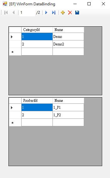 [EF] WinForm DataBinding-6