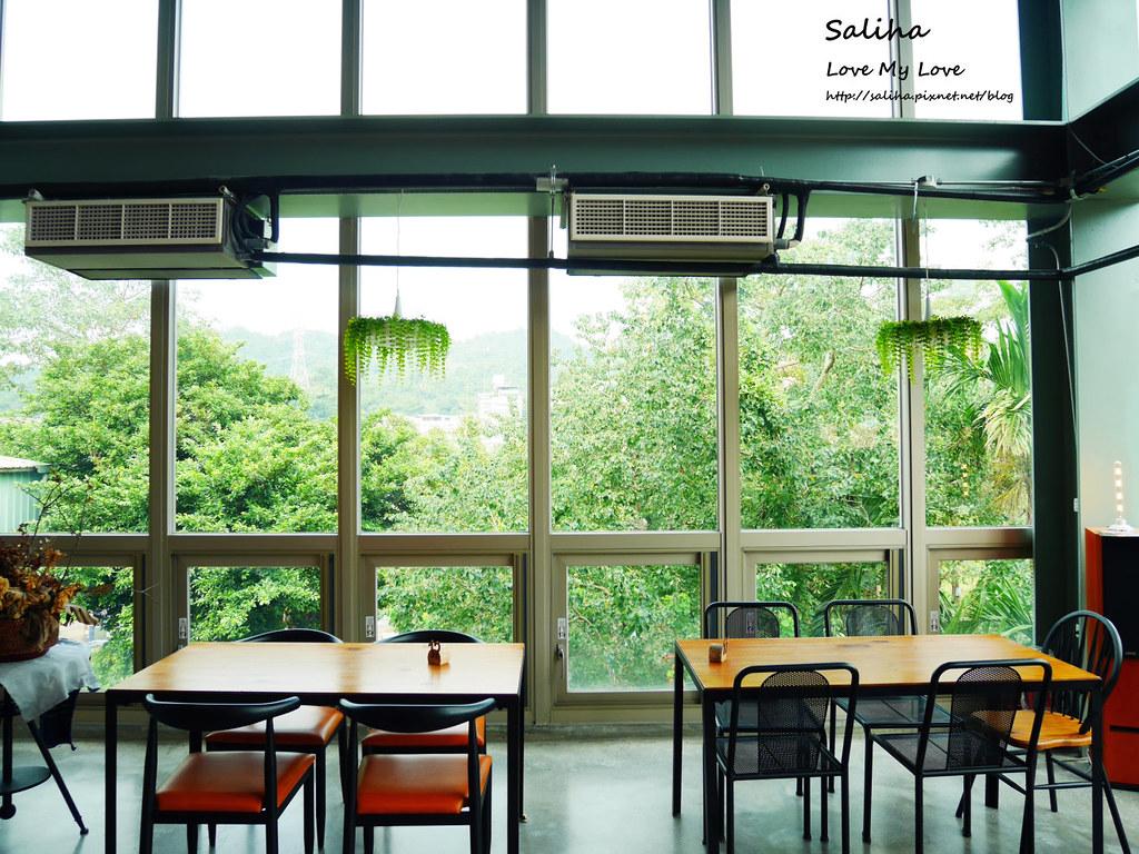 新北深坑老街一日遊景點推薦Arc Cafe下午茶玻璃屋咖啡廳 (5)