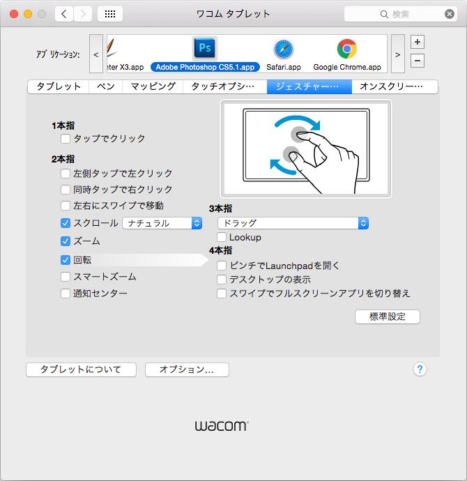 Wacom Intuos CTH-680 ワコム ペンタブレット タッチ機能
