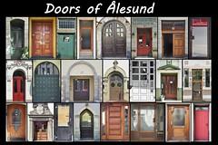 Doors of Alesund