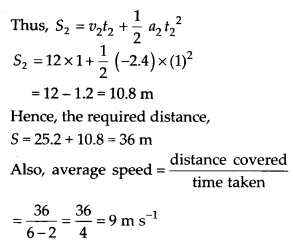 NCERT Solutions for Class 11 Physics Chapter 3 Motion in a Stright line 38
