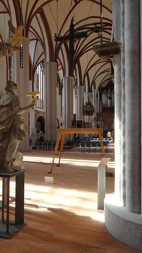 Nikolaikirche Mittelschiff