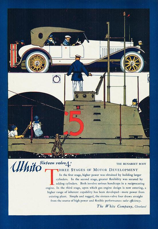 1917 White Sixteen Valve 4 Runabout
