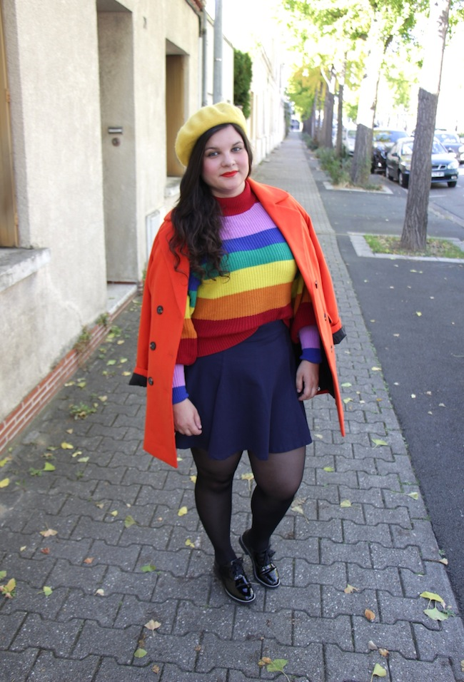 comment-porter-manteau-orange-blog-mode-la-rochelle-4