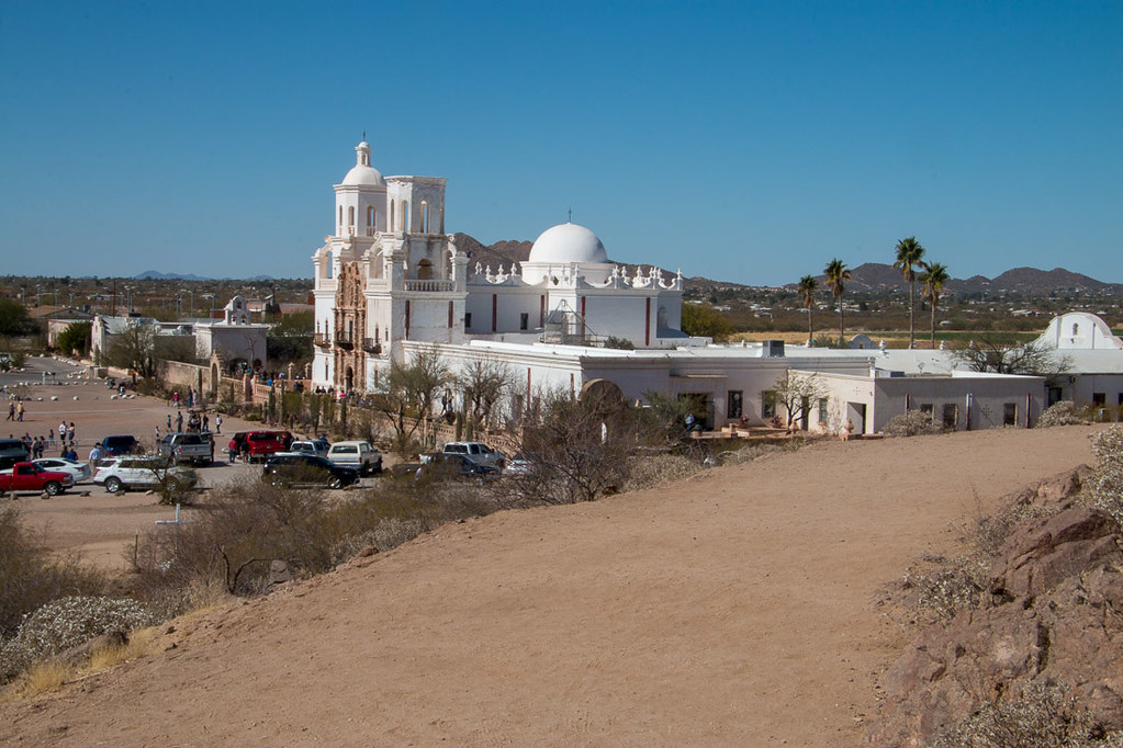 Grounds of Mission San Xavier