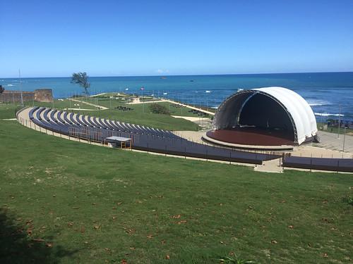38 - Konzertmuschel am Fortaleza Puerto Plata