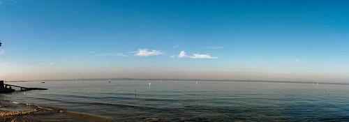 Panorama from the lake promenade in Arbon