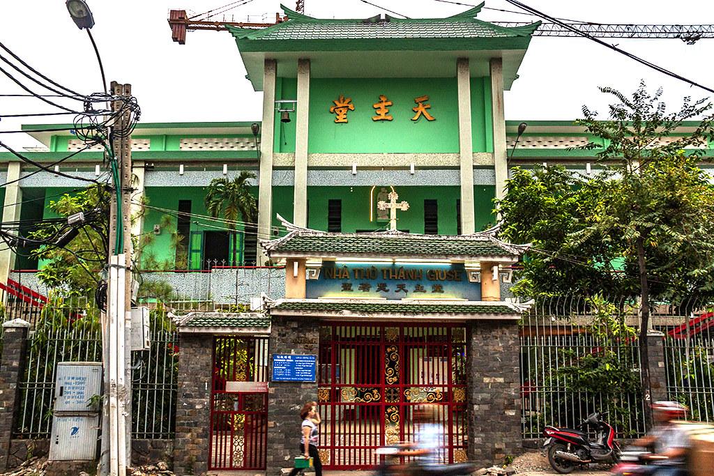 St Joseph Church in Cho Lon--Saigon